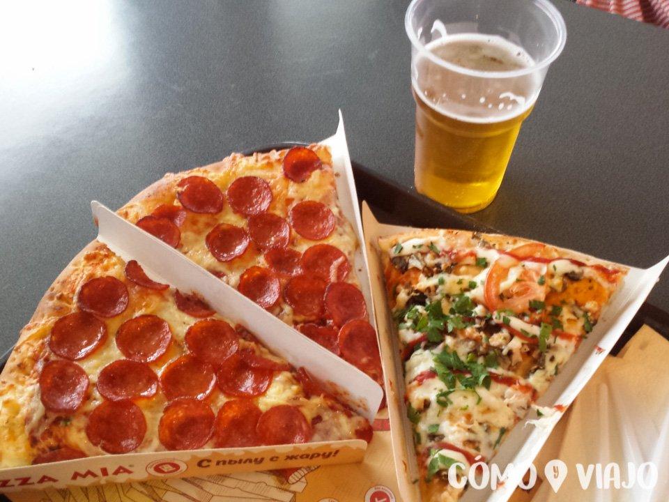 Pizza Mia en Ekaterimburgo