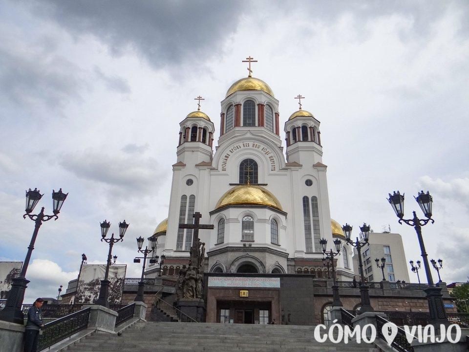 La mejor razón para visitar Ekaterimburgo, la Iglesia sobre la Sangre Derramada