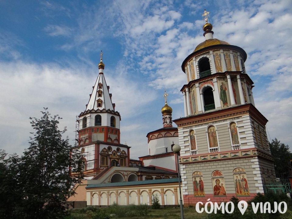 Una de las iglesias de Irkutsk