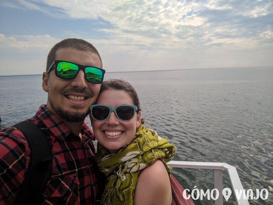 Disfrutando el Lago Baikal