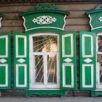 Arquitectura de madera en Irkutsk