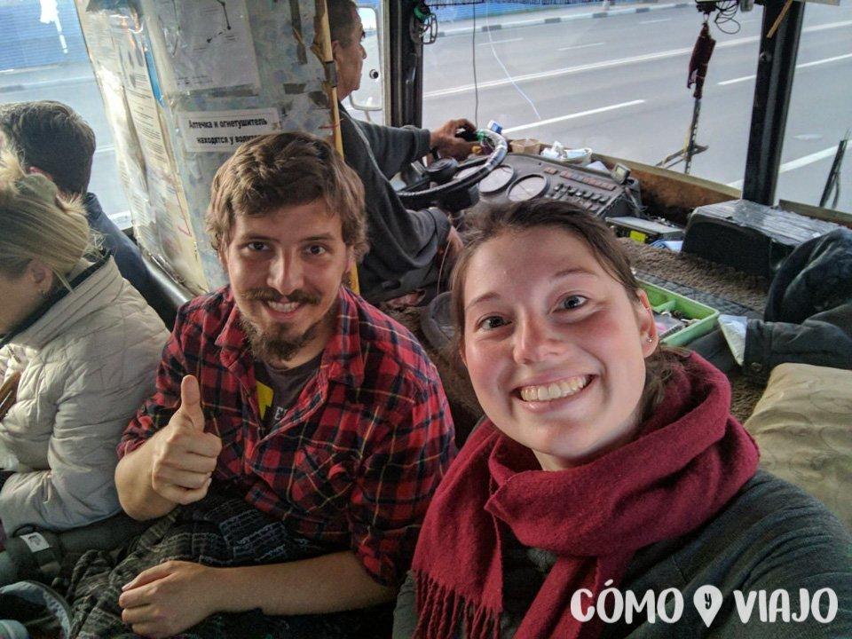 De cobradores de bus en Nizhni Novgorod