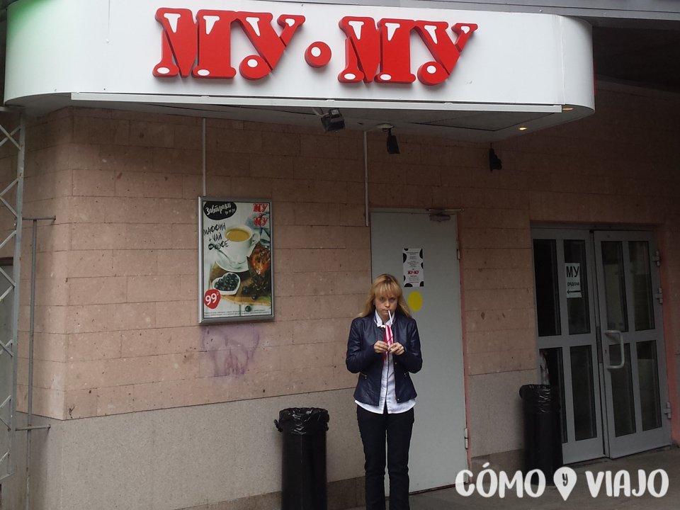 Restaurante de comida rusa en Moscu