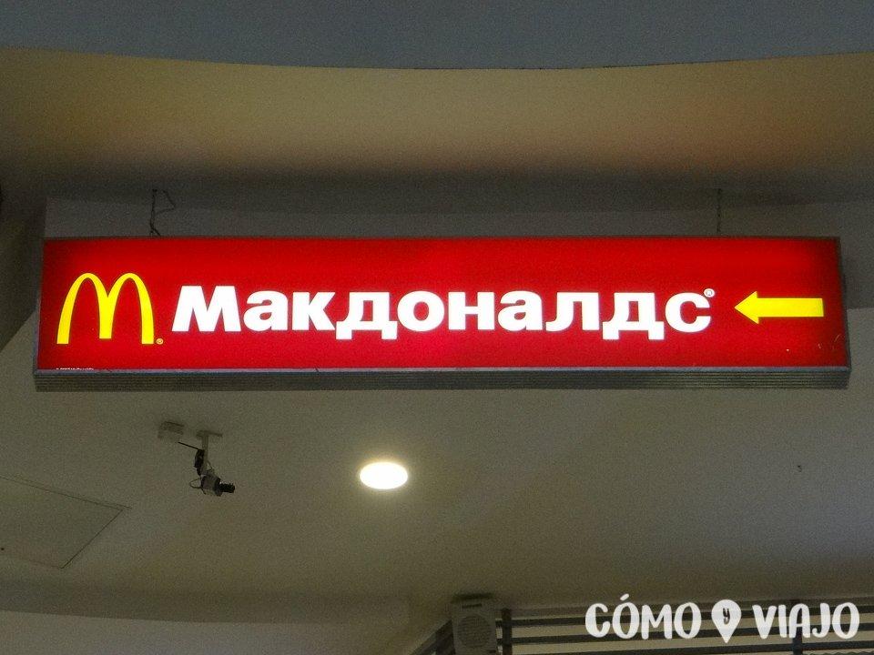 Comida rapida en San Petersburgo