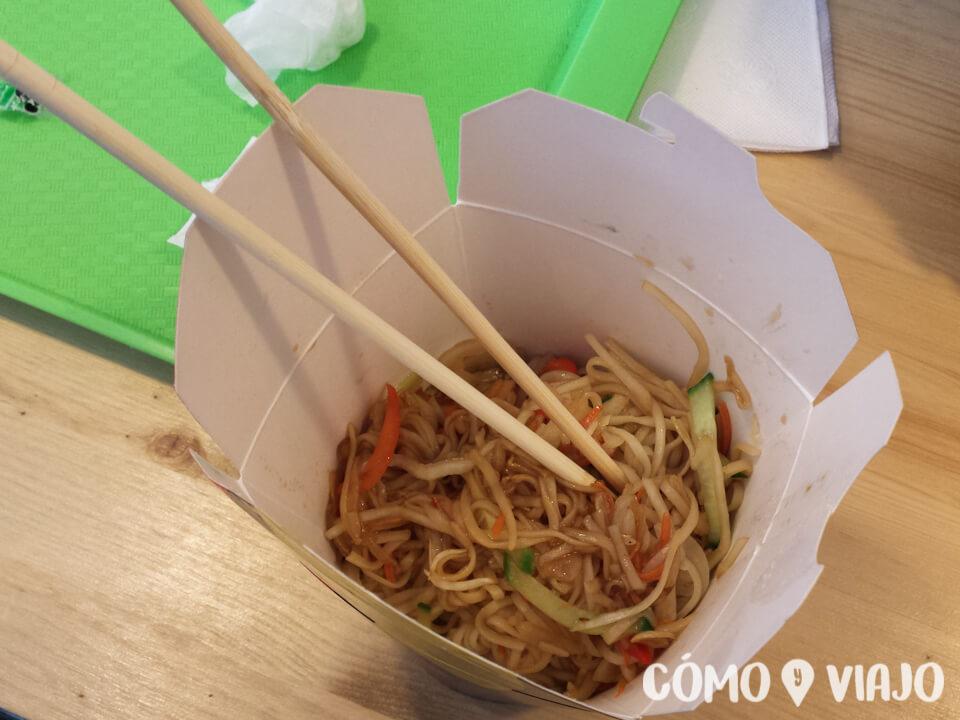 Comida china en San Petersburgo