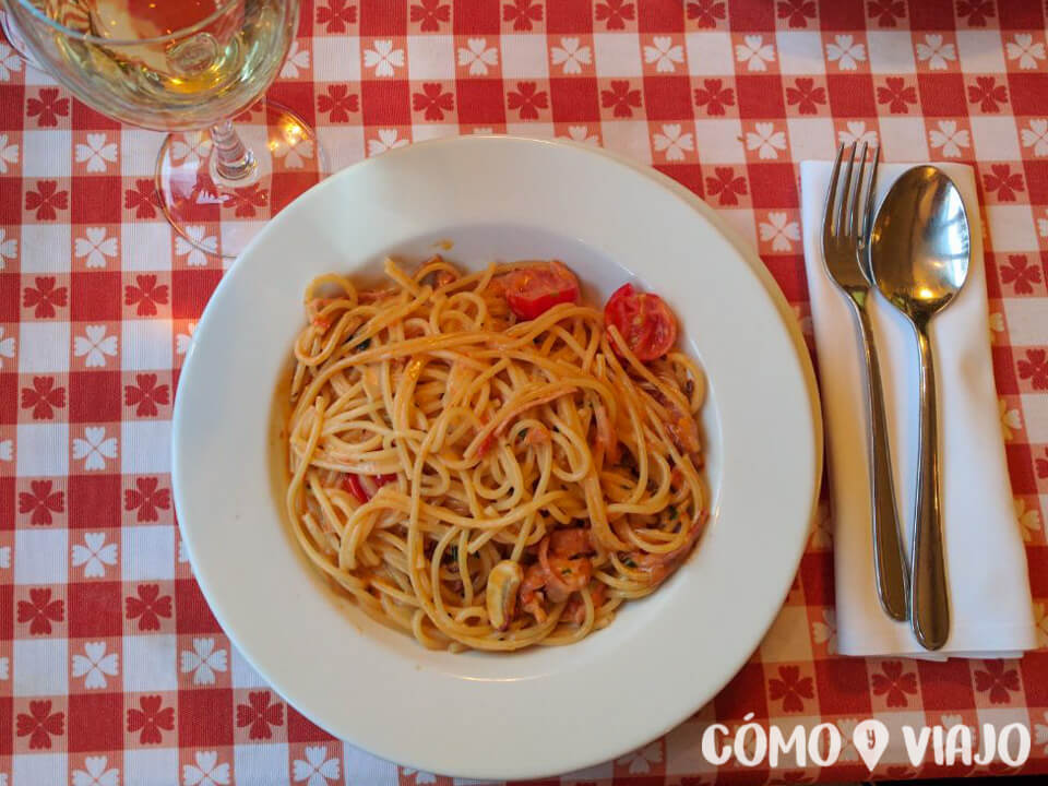 Comida italiana en San Petersburgo