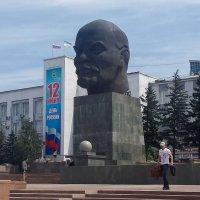 Escultura de Lenin en Ulan Ude