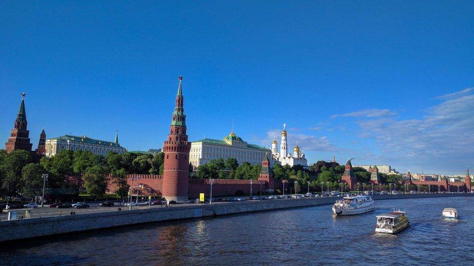 Vista del Kremlin de Moscu