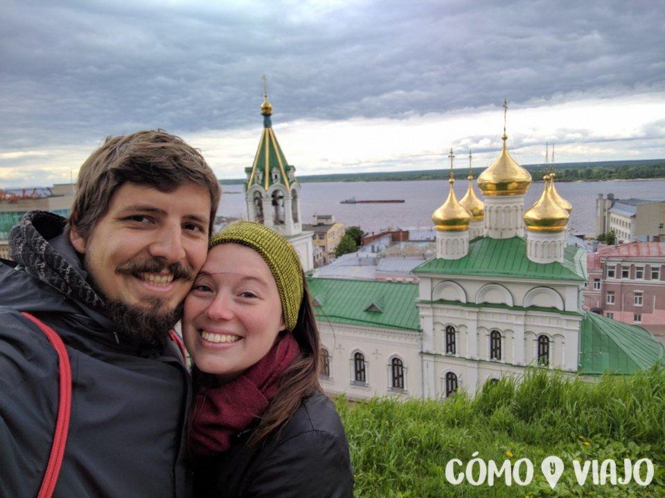 Viajando por Rusia y conociendo iglesias