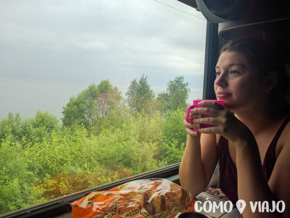 Viajando en tren por Rusia