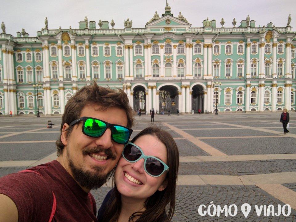 Conociendo el Palacio de Invierno de San Petersburgo
