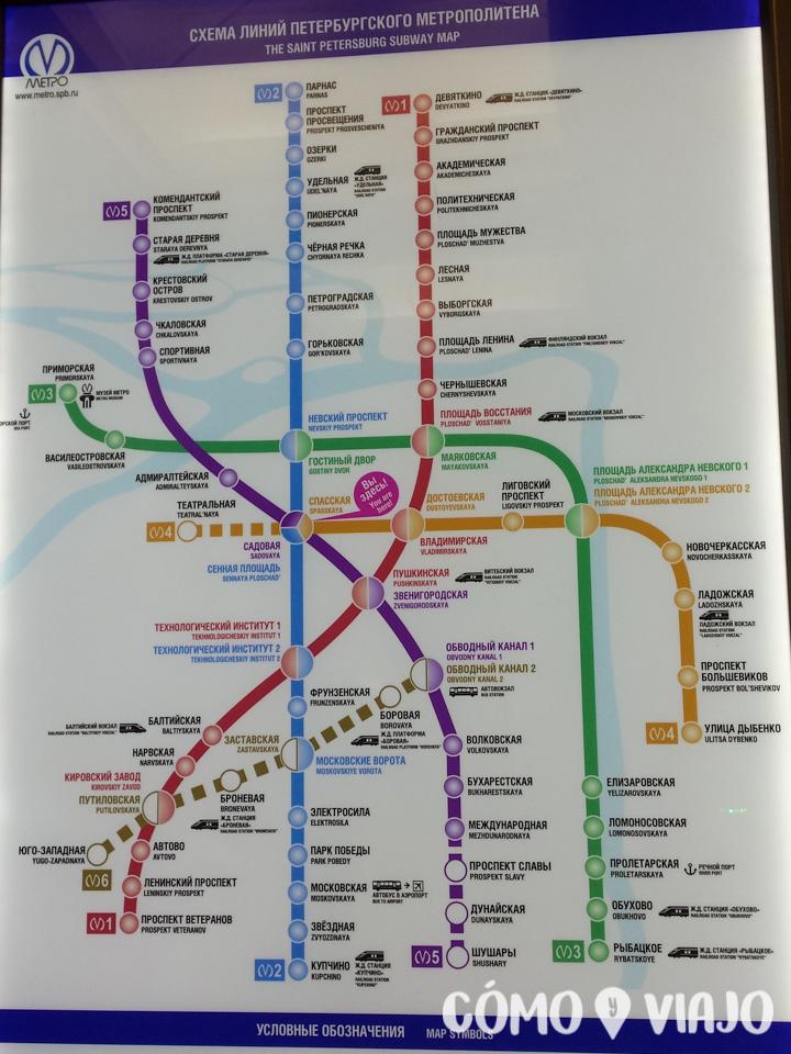 Red de Metro de San Petersburgo