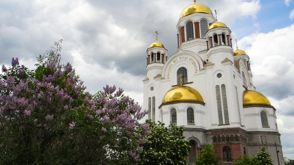 Catedral donde murio la familia Romanov en Ekaterimburgo