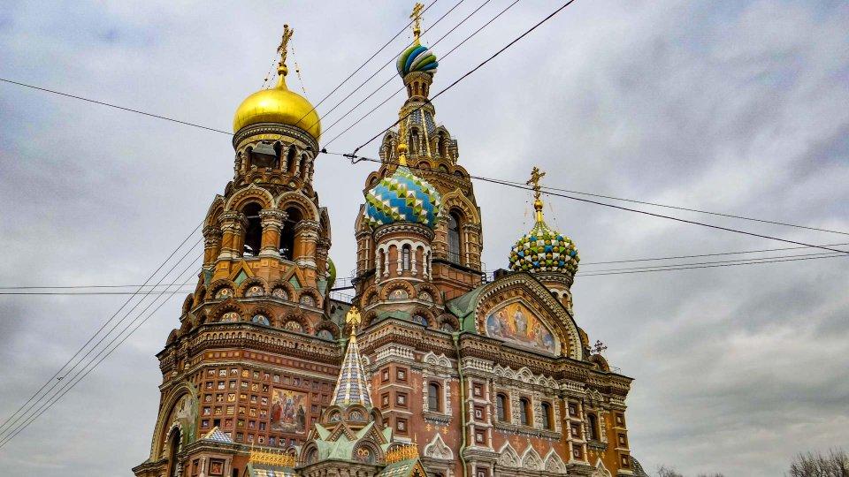 Iglesia del Salvador sobre la sangre derramada de San Petersburgo