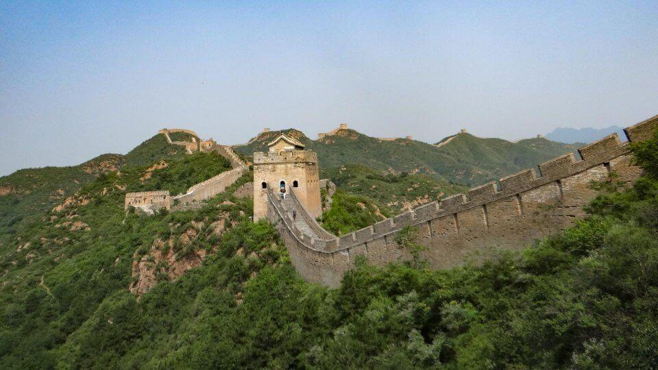 Vista de la Muralla China