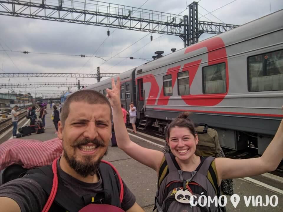 Terminando la ruta del Transiberiano