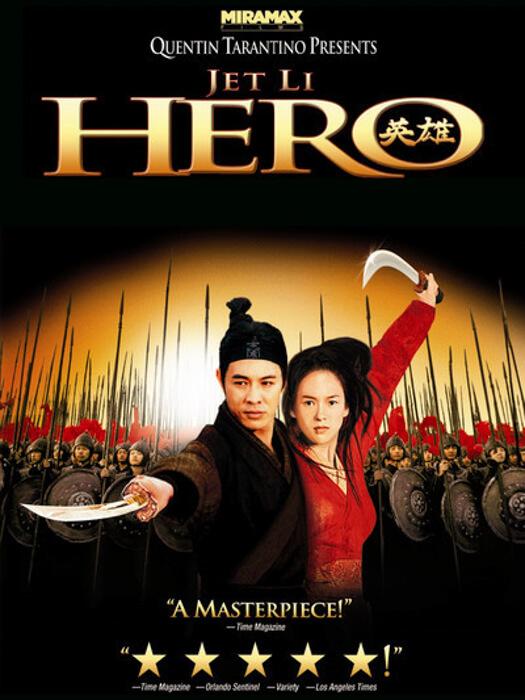 Recomendación de película Hero