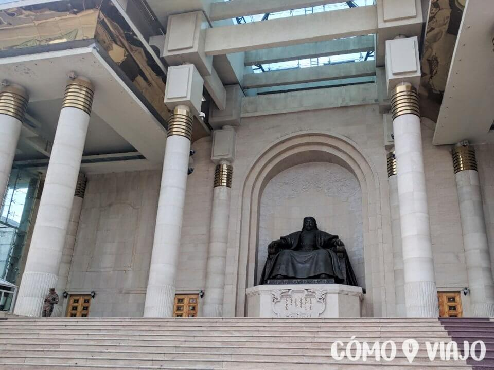 Genghis Khan en Ulán Bator