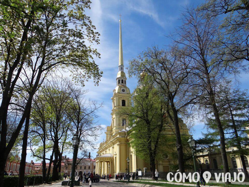 Fortaleza de San Pedro y San Pablo en San Petersburgo