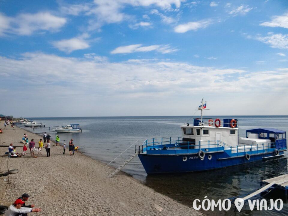 Lago Baikal en Listvianka