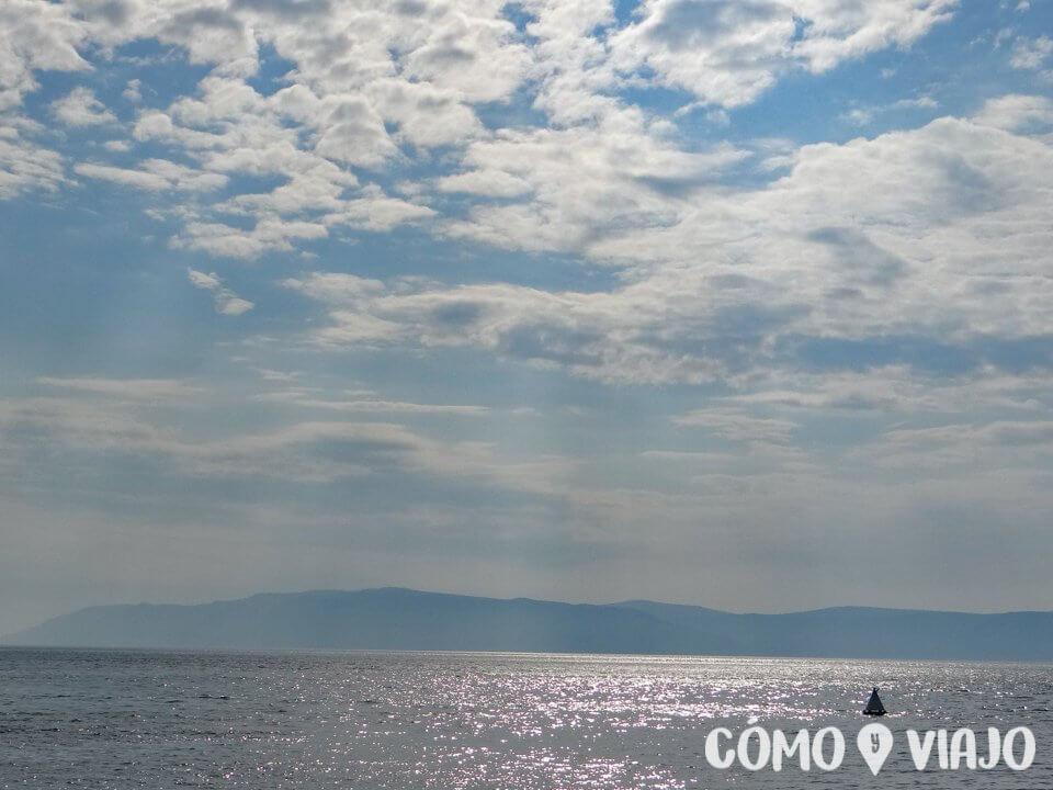 Vista del Lago Baikal