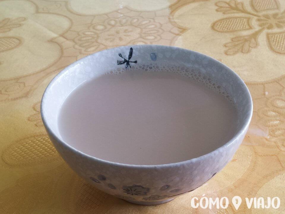 Té con leche en Mongolia
