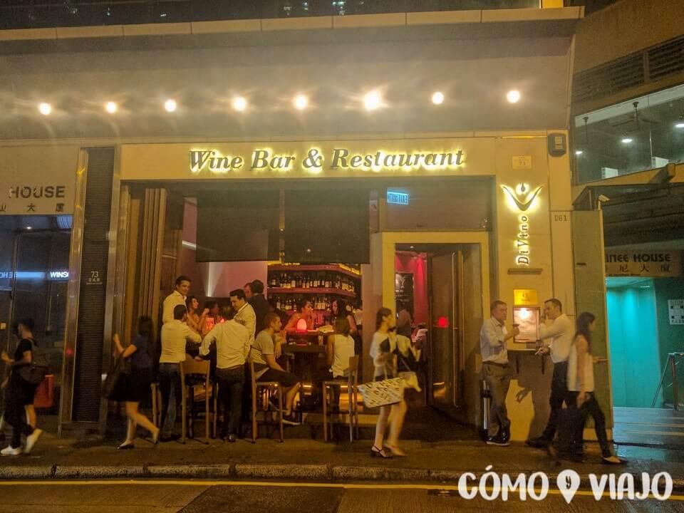 Bares de expats en Hong Kong