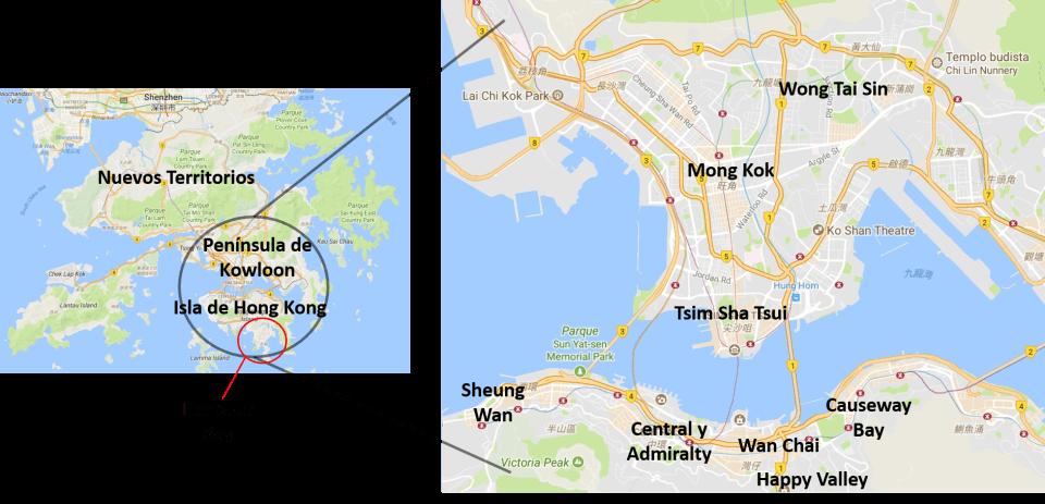 Barrios de Hong Kong