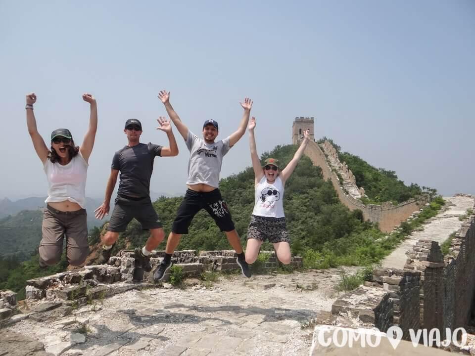 Visitar la Muralla China
