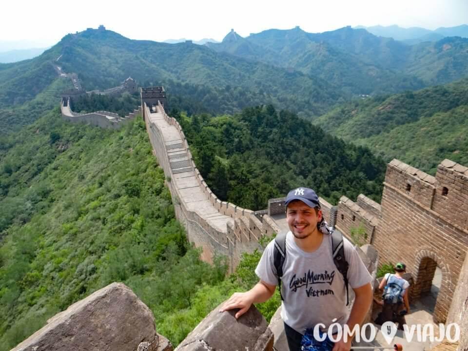 Caminando por la Muralla China