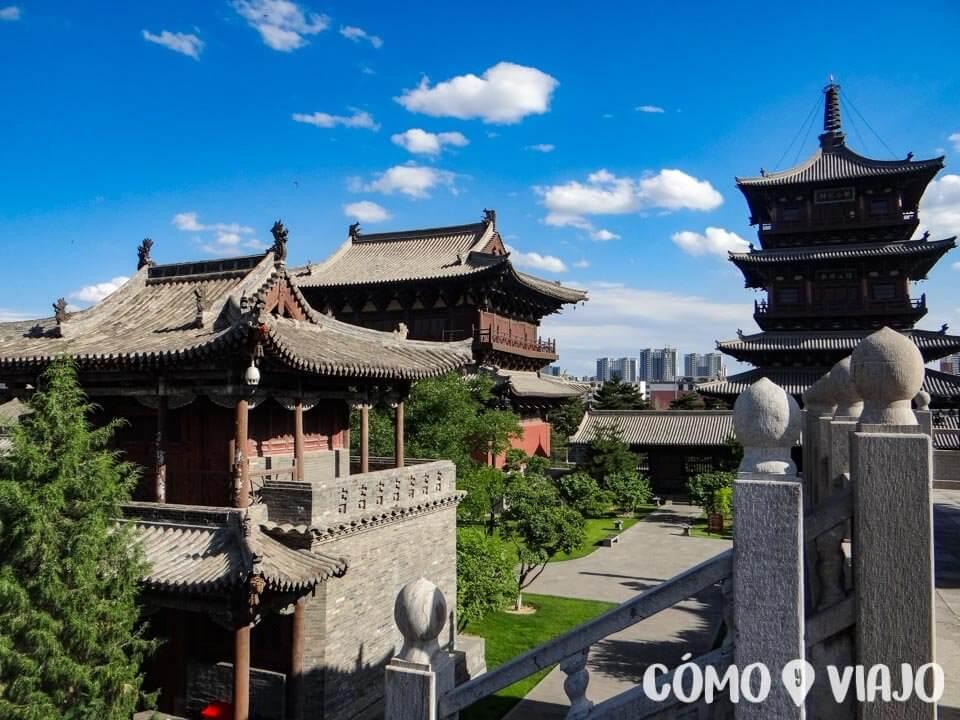 Monasterio Huayan, lugares que ver en Datong