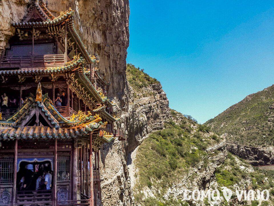Vista del Templo Colgante