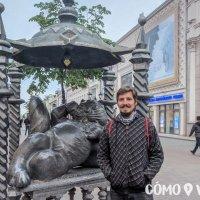 Peatonal Baumana de la ciudad de Kazan