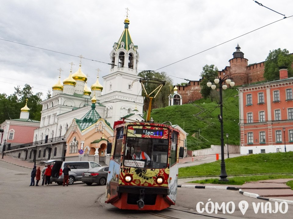 Tram en Nizhni Novgorod