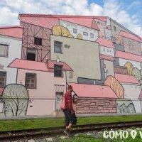 Caminando por barrios del puerto de Vladivostok