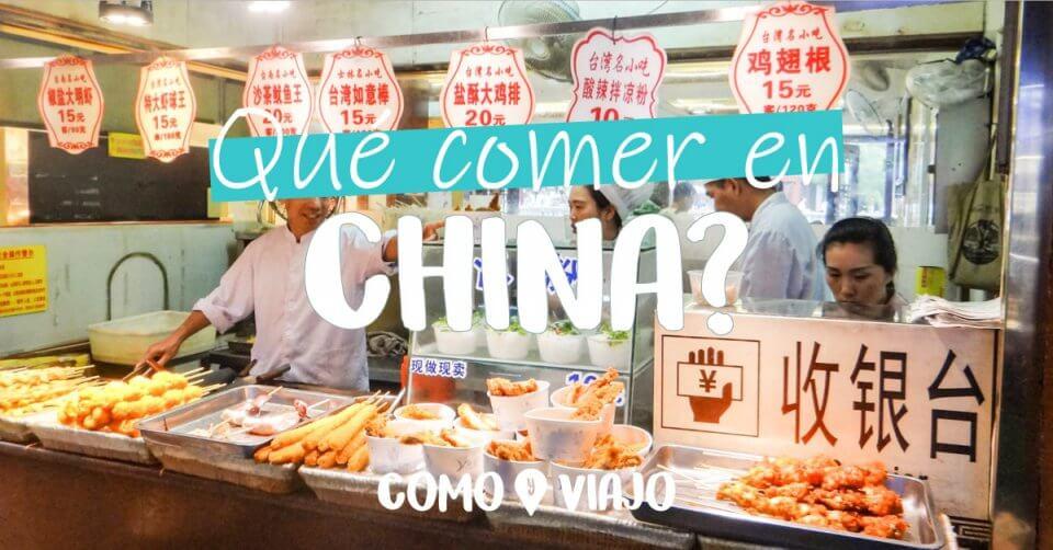 Qué comer en China