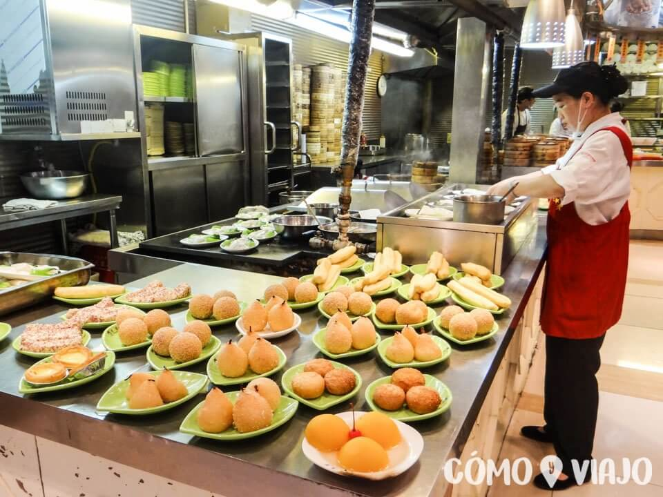 Dónde comer comida china en China: Comedores
