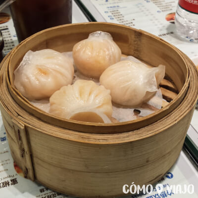 Qué comer en China: Dumplings al vapor