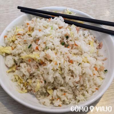 Qué comer en China: Fried rice