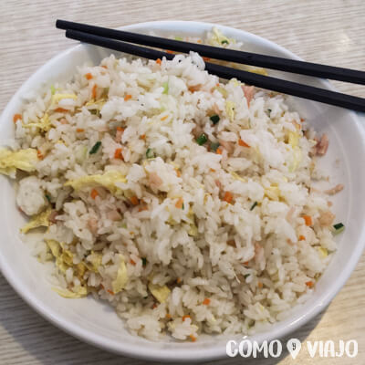 Qué comer en China: Fried rice