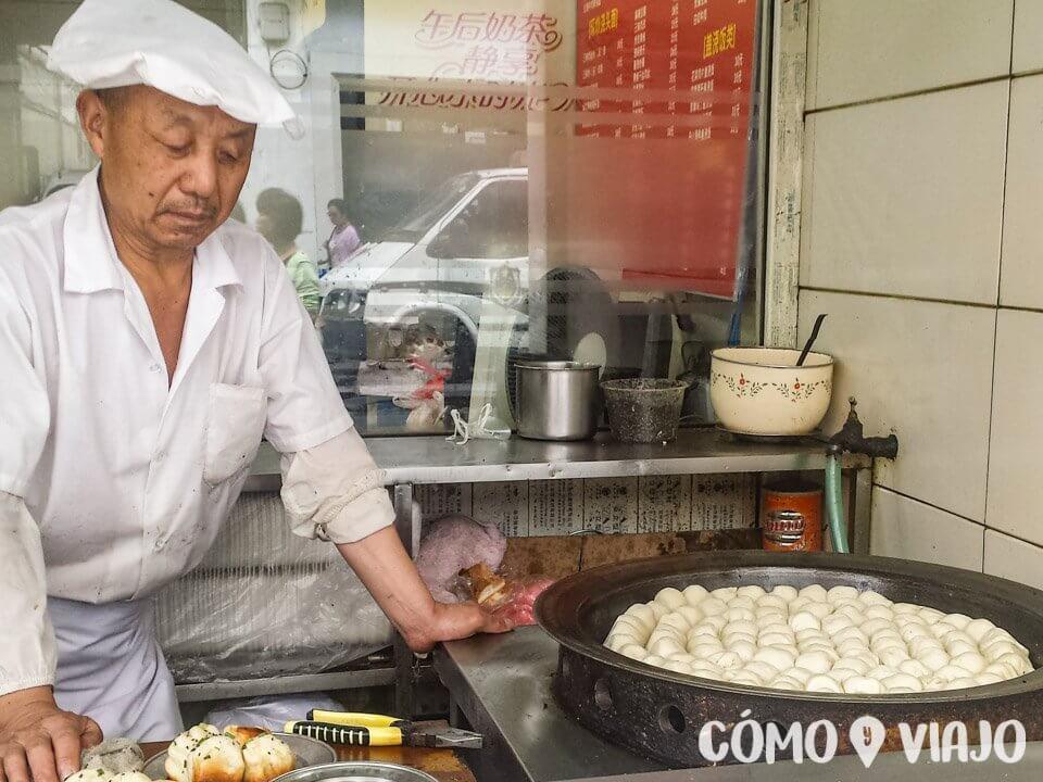 Dónde comer comida china en China: Locales callejeros