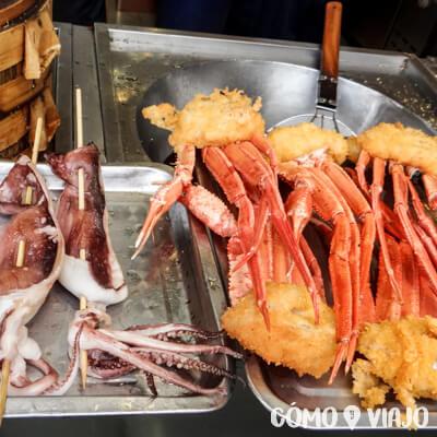 Qué comer en china: mariscos
