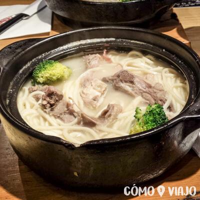 Sopas de comida china