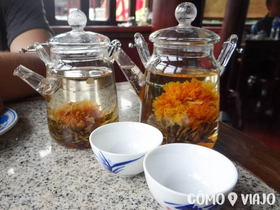 Seguridad en China: Ceremonia del té
