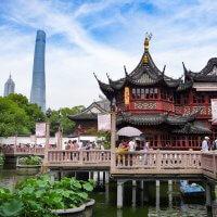 Jardines de Yuyuan en Shanghai