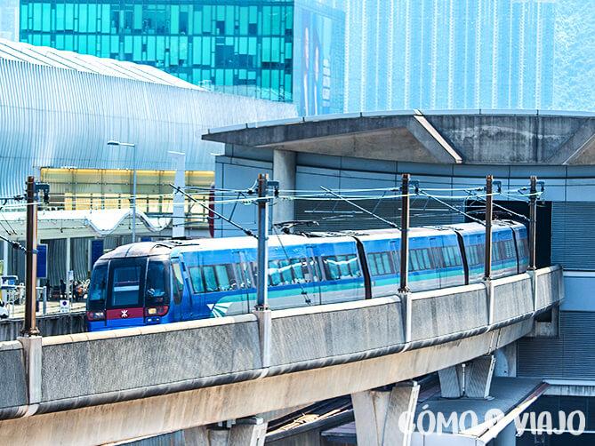 Como ir del aeropuerto de hong kong al centro en tren