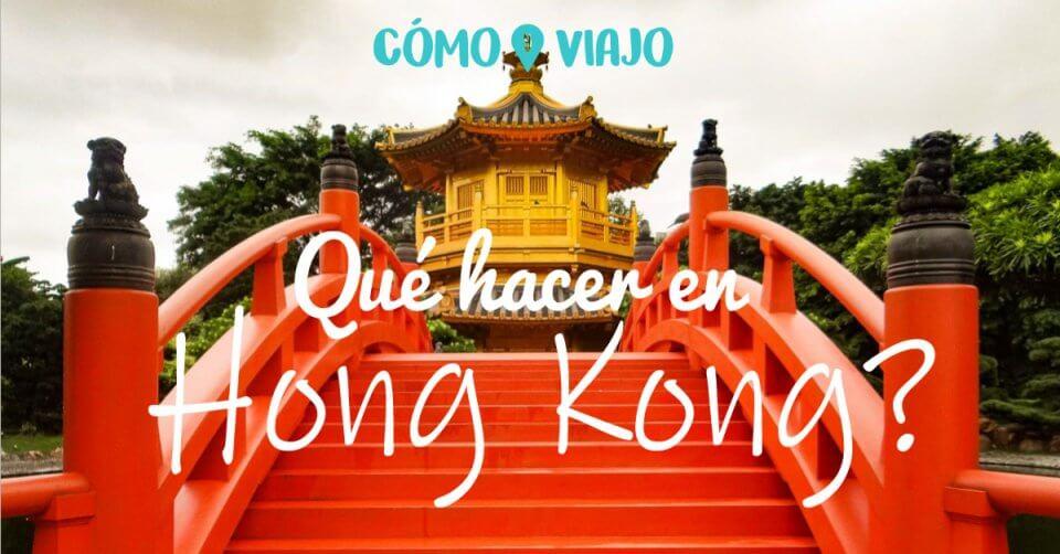 Cosas qué hacer en Hong Kong
