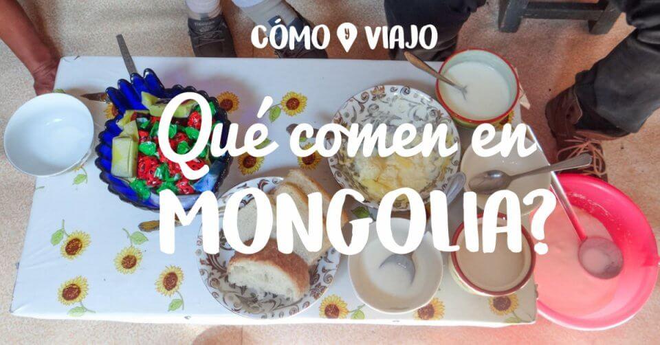 Comida en Mongolia