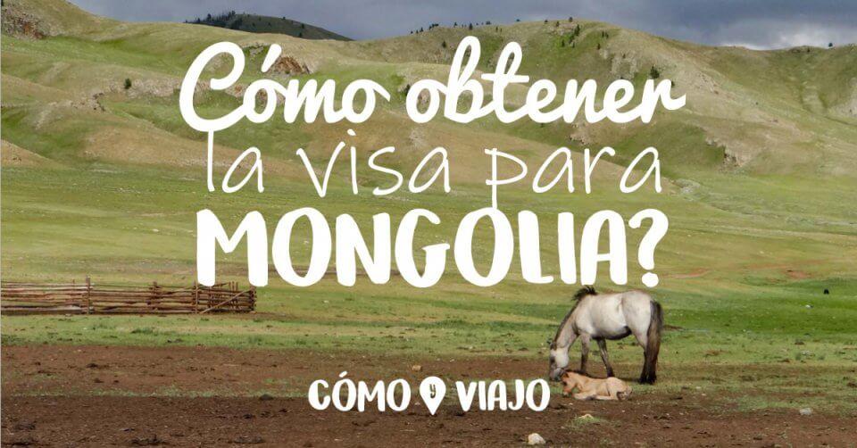 Visa para Mongolia