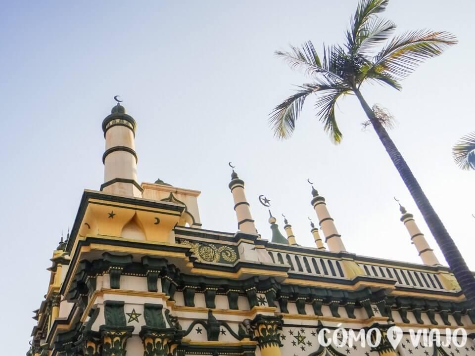 Mezquita en Little India en Singapur